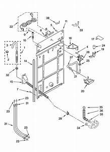 32 Kenmore Elite Washer Parts Diagram