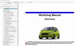 2019 Ford Fiesta Repair Manual