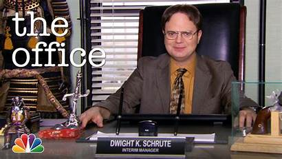 Dwight Schrute Manager Acting Office Nbc Web