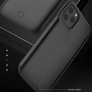 Jlw Battery Case Iphone 11 Pro Max 6000mah Battery Case
