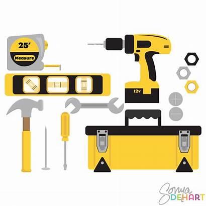 Clip Tools Clipart Box Tool Toolbox Vector
