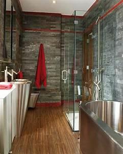 Baignoire grise meilleures images d39inspiration pour for Salle de bain design avec décoration mariage antillais