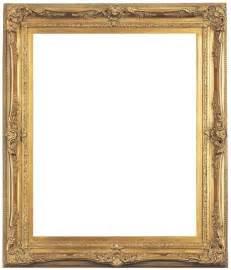 antiquepictureframes louis xv style antique gold frame
