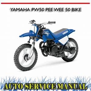 Yamaha Pw50 Pee Wee 50 Bike Workshop Repair Service Manual