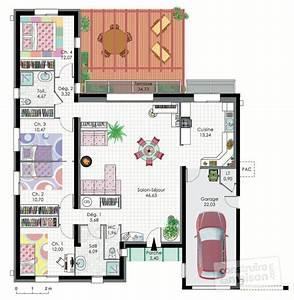 maison bioclimatique detail du plan de maison With construire sa maison 3d 2 maison bioclimatique 1 detail du plan de maison