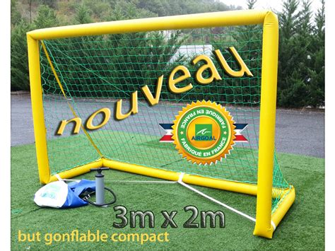 mini but gonflable 1m80 x 1m00 airgoal
