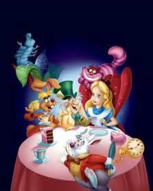 Disney Alice in Wonderland Tea Party Scene