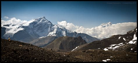Syagang And Annapurna Iii By Dominion-photography On