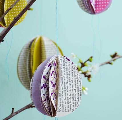 ostereier aus papier selbst gemachte deko eier aus papier bild 12 living at home