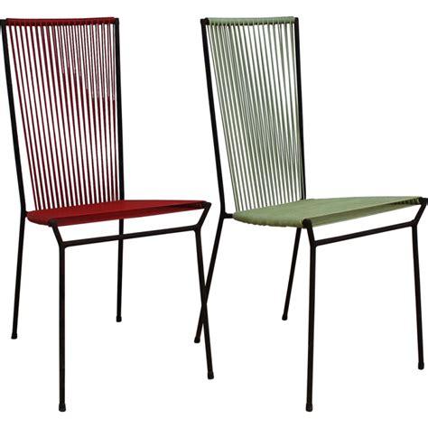 chaise scoubidou chaises plastiques design trendy chaises plastiques