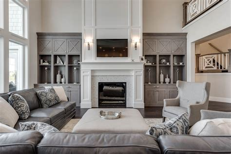 Living Room With Fireplace Ideas by Salt Lake Parade Of Homes Rooms Living Room With