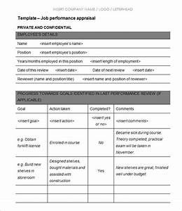 13 hr appraisal forms hr templates free premium With performance management forms templates