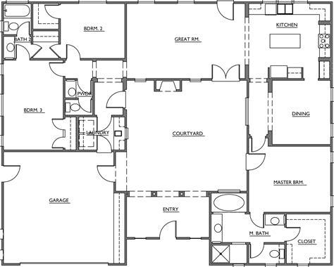 courtyard home floor plans turner mesquite courtyard homes floor plans