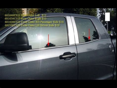 replace toyota tundra double cab front rear door