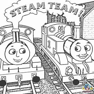 Thomas the train and friends coloring pages online free ...