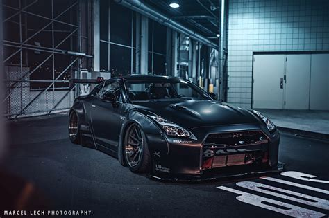 black liberty walk gt  front side view  sssupersports
