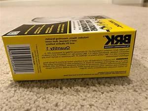 Brk Smoke And Carbon Monoxide Detector Sc9120b W
