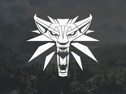 Wolf Animated Svg Witcher Logos Gifs Javascript