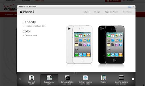 verizon iphone upgrade why is there a white iphone on verizon s website update