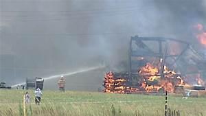 Firefighters battle big blaze, soaring tempratures near