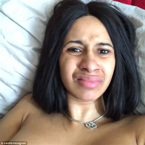 cardi b without her wig base talk is cardi b the most beautiful rapper of all