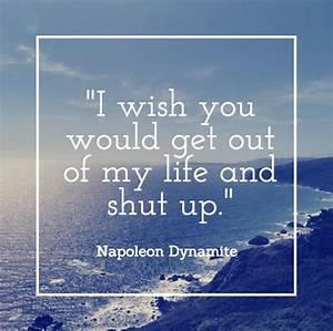 If Napoleon Dyn... Napoleon Dynamite Dojo Quotes