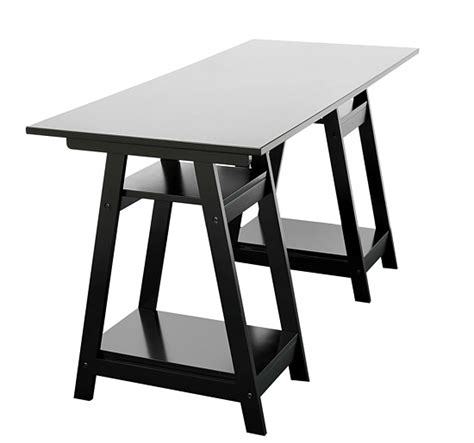 Black Writing Desk Canada by Writing Computer Desk Table Home Office Furniture Black Ebay