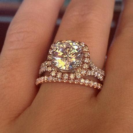 engagement ring eye candy rose gold engagement rings