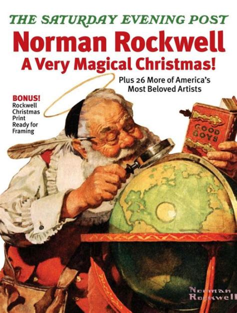 The Saturday Evening Post's Norman Rockwell A Very Magical ...