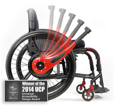 Wheelchair Lever Driving and Braking System