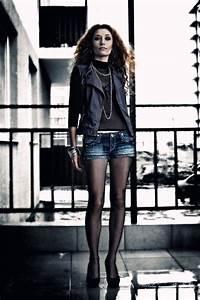 Black fishnet tights and denim shorts | Style your Legs | Pinterest | Sexy Fishnet and Denim shorts