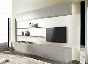Grand Meuble Tv Avec Rangement