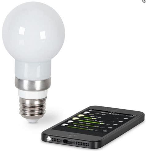 the iphone controlled light bulb gadgets matrix