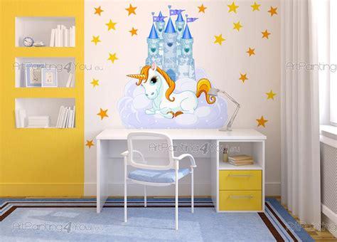muurstickers babykamer kinderkamer eenhoorn nl