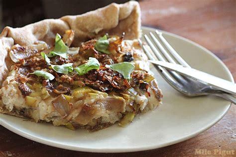 cuisiner haricots blancs tarte rustique aux poireaux et haricots blancs