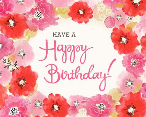 birthday wishes interactive birthday ecard blue