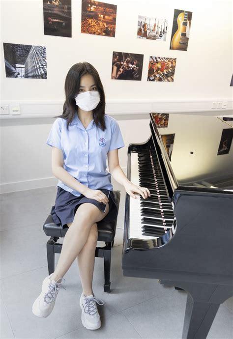 chantel yiu cheuk faye grade  student    strong    tv singing contest