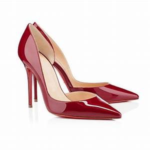 2017 Women Pumps Shoes Red Bottom High Heels Wedding Party ...