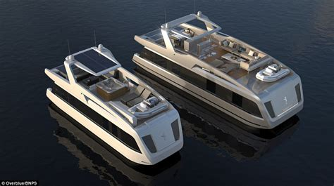 Expensive Flats Boats by Luxurious Houseboat Boasts King Size Beds A And