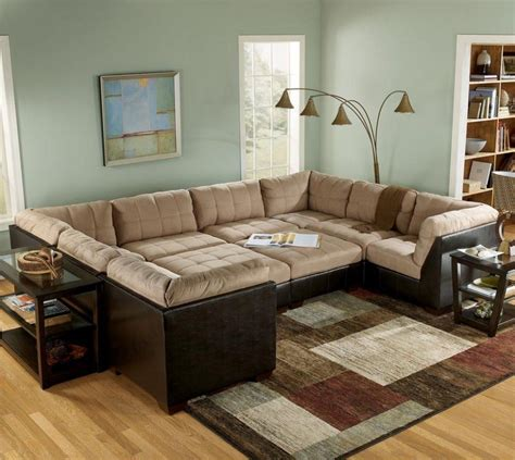 large sectional sofa 20 top sectional sofa with large ottoman sofa ideas