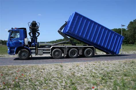 huis 750 kuub 40m3 container groenafval tuinafval container