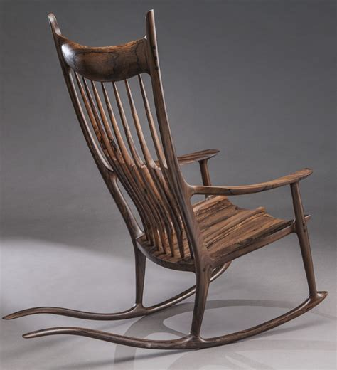 sam maloof rocking chair auction sam maloof rosewood tailed rocking chair