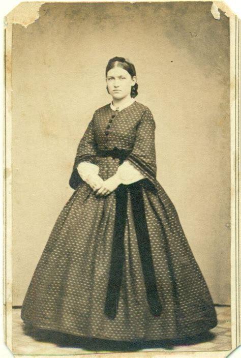 mary bennett johnson cdv photo civil war era decatur