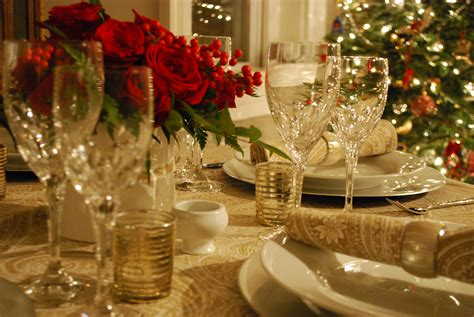 Christmas Table Decoration... ⋆ Instyle Fashion One