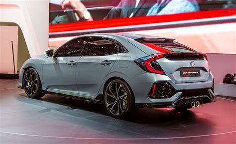 2017 Honda Civic Hatchback Concept Photos And Info News