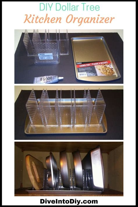 kitchen dollar tree diy organizer organization organizers cabinet napkin holders cabinets easy uses into