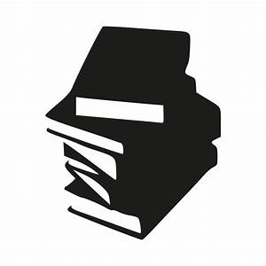 Stack Of Books Clipart Black And White | Clipart Panda ...