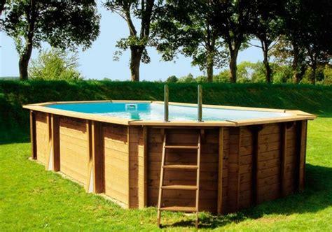 les points forts d une piscine hors sol en bois