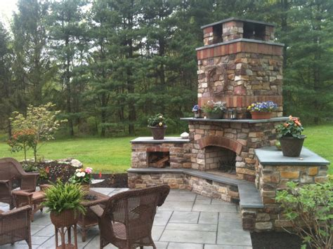 Outdoor Fireplaces The Earthscape Company