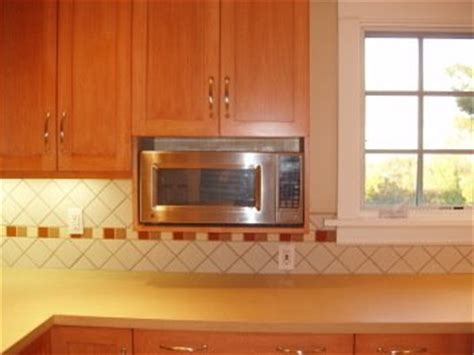 kitchen design microwave placement microwave placement kitchen design notes 4512